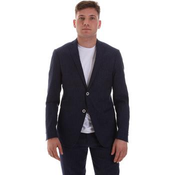 Kleidung Herren Jacken / Blazers Sseinse GAE569SS Blau