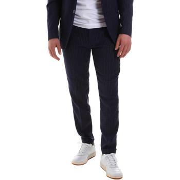 Kleidung Herren Anzughosen Sseinse PCE580SS Blau