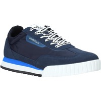 Schuhe Herren Sneaker Low Lumberjack SM81612 002 X22 Blau
