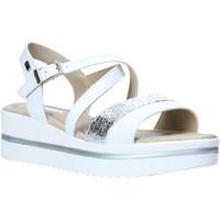 Schuhe Damen Sandalen / Sandaletten Valleverde 32320 Weiß