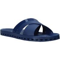 Schuhe Herren Pantoffel Sensi 4300/C Blau