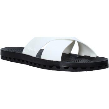 Schuhe Herren Pantoffel Sensi 4300/U Weiß
