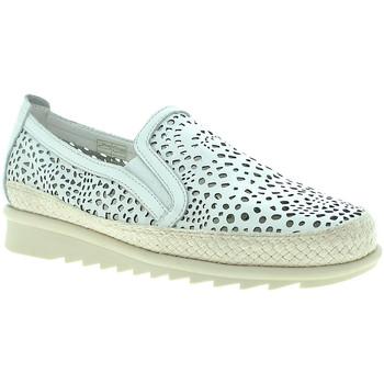 Schuhe Damen Slip on Susimoda 4777 Weiß