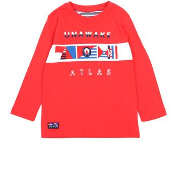 Kleidung Mädchen Langarmshirts Losan 015-1002AL Rot