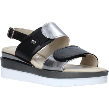 Schuhe Damen Sandalen / Sandaletten Valleverde 32141 Schwarz