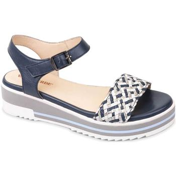 Schuhe Damen Sandalen / Sandaletten Valleverde 15150 Blau