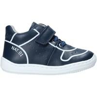 Schuhe Kinder Sneaker High Naturino 2013463 01 Blau