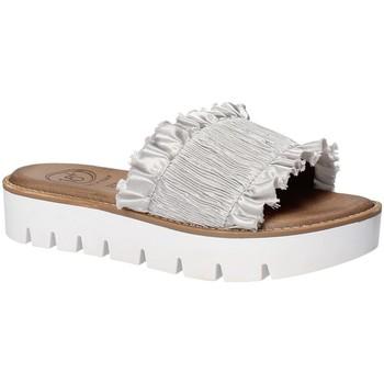 Schuhe Damen Pantoffel 18+ 5812 Grau