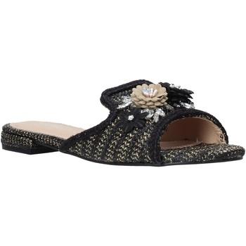 Schuhe Damen Pantoffel Gold&gold A20 GK35 Schwarz