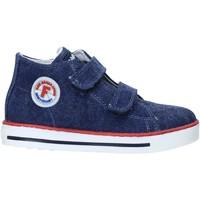 Schuhe Kinder Sneaker High Falcotto 2014604 04 Blau