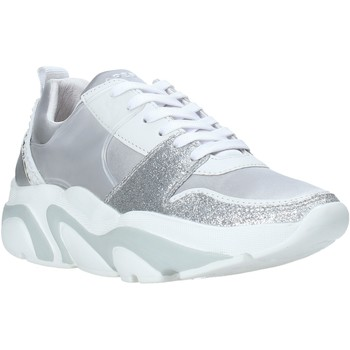 Schuhe Damen Sneaker Low Apepazza S0EASY01/MIX Silber