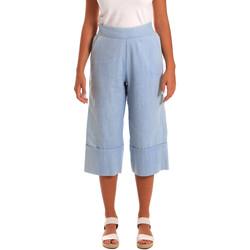Kleidung Damen 3/4 Hosen & 7/8 Hosen Y Not? 18PEY043 Blau