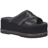Schuhe Damen Pantoffel Exé Shoes G41007137A30 Schwarz