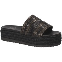 Schuhe Damen Pantoffel Exé Shoes G41006777884 Schwarz