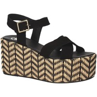 Schuhe Damen Sandalen / Sandaletten Exé Shoes G41007047004 Schwarz