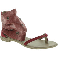 Schuhe Damen Sandalen / Sandaletten 18+ 6111 Rot