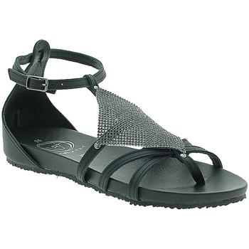 Schuhe Damen Sandalen / Sandaletten 18+ 6108 Schwarz