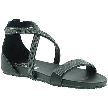 Schuhe Damen Sandalen / Sandaletten 18+ 6141 Schwarz