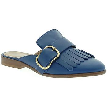 Schuhe Damen Pantoletten / Clogs Mally 6116 Blau