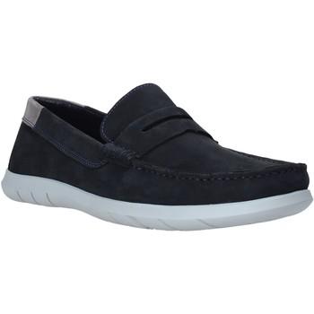 Schuhe Herren Slipper Impronte IM01083A Blau