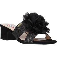 Schuhe Damen Pantoffel Love To Love EVA583C1 Schwarz