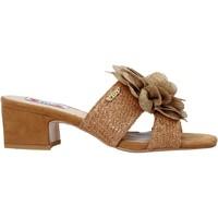 Schuhe Damen Pantoffel Love To Love EVA575 Braun
