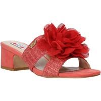 Schuhe Damen Pantoffel Love To Love EVA5106 Rot