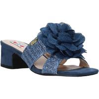 Schuhe Damen Pantoffel Love To Love EVA579 Blau
