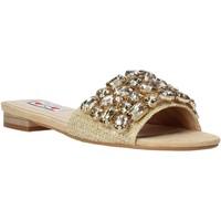 Schuhe Damen Pantoffel Love To Love ALE 1177 Braun