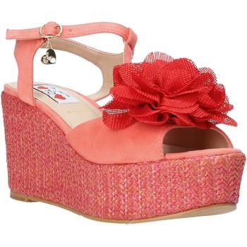 Schuhe Damen Sandalen / Sandaletten Love To Love GIN5106 Rot