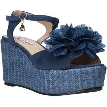 Schuhe Damen Sandalen / Sandaletten Love To Love GIN579 Blau