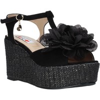 Schuhe Damen Sandalen / Sandaletten Love To Love GIN583 Schwarz