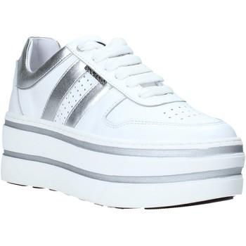 Schuhe Damen Sneaker Low Exton 1505 Weiß