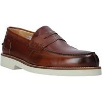 Schuhe Herren Slipper Exton 2102 Braun