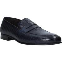 Schuhe Herren Slipper Exton 1021 Blau