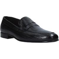 Schuhe Herren Slipper Exton 1021 Schwarz