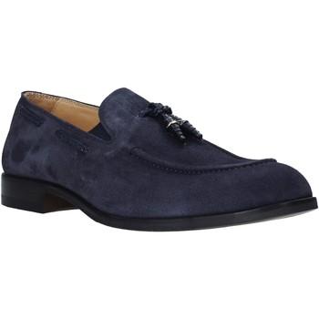 Schuhe Herren Slipper Exton 1111 Blau