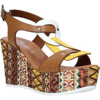Schuhe Damen Sandalen / Sandaletten Grace Shoes 09 Braun