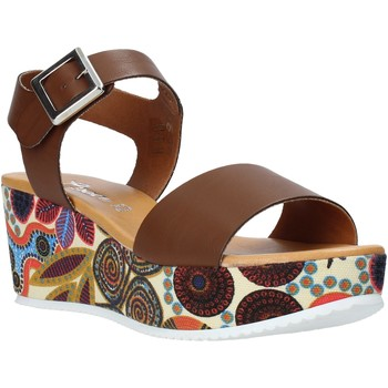 Schuhe Damen Sandalen / Sandaletten Grace Shoes 03 Braun