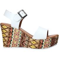 Schuhe Damen Sandalen / Sandaletten Grace Shoes 08 Weiß
