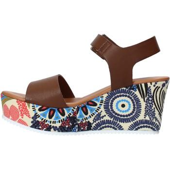 Grace Shoes 07 Braun - Schuhe Sandalen / Sandaletten Damen 3995