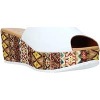 Schuhe Damen Pantoffel Grace Shoes 10 Weiß