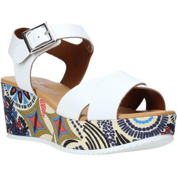 Schuhe Damen Sandalen / Sandaletten Grace Shoes 12 Weiß