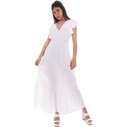 Kleidung Damen Maxikleider Gaudi 011BD15039 Weiß