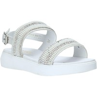 Schuhe Mädchen Sandalen / Sandaletten Miss Sixty S20-SMS774 Silber