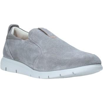 Schuhe Herren Slip on Impronte IM01001A Grau