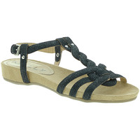 Schuhe Damen Sandalen / Sandaletten Mally 3828GL Schwarz