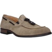 Schuhe Herren Slipper Exton 1111 Beige