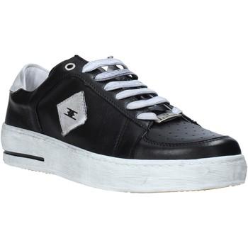 Schuhe Herren Sneaker Low Exton 178 Schwarz