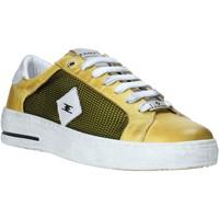 Schuhe Herren Sneaker Low Exton 177 Gelb